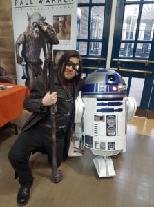 Trying to hire R2D2 as an Auror