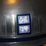 Finally got round to cutting some holes into R2's dome. He now has lights! :)